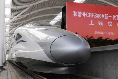 Tàu tốc hành Trung Quốc lập kỷ lục thế giới