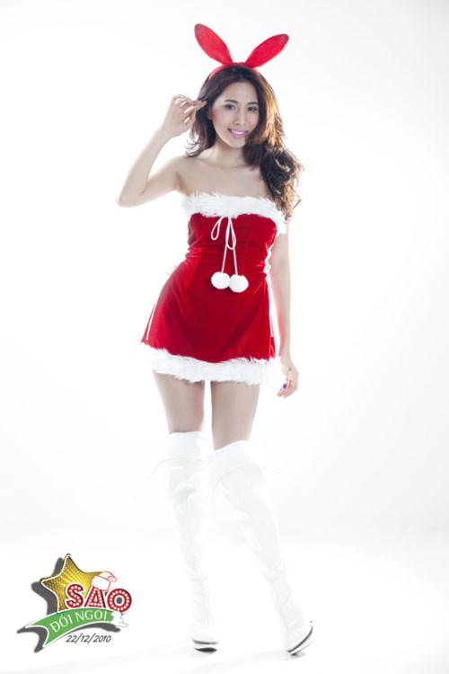 Thủy Tiên 'nóng' cùng Giáng Sinh