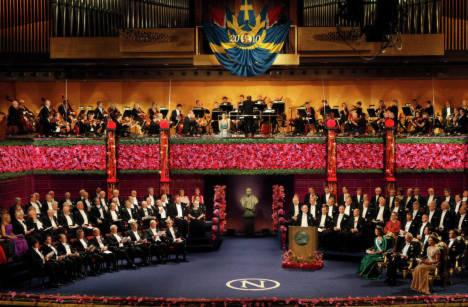 Toàn cảnh lễ trao giải Nobel năm 2010