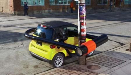 Chiếc ô tô này đúng là rất nhỏ gọn.