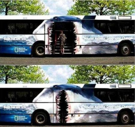 Chiếc xe bus này sẽ ăn thịt bạn và thuyết phục bạn xem kênh National Geographic