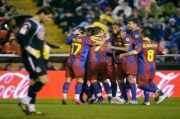 Barca phá hàng loạt kỷ lục tại Liga