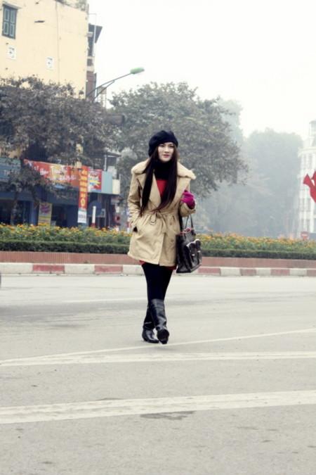 Candy Thu Thủy bát phố Hà Thành ngày cận Tết