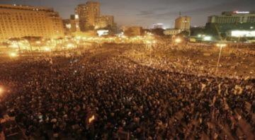 Cảnh tượng bạo loạn ở Ai Cập