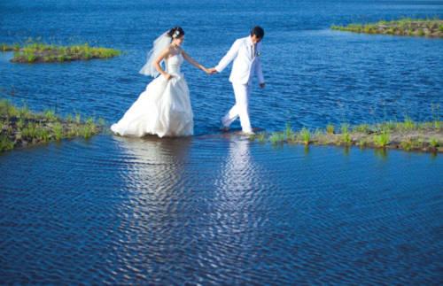 Cảnh Việt Nam lung linh trong ảnh cưới