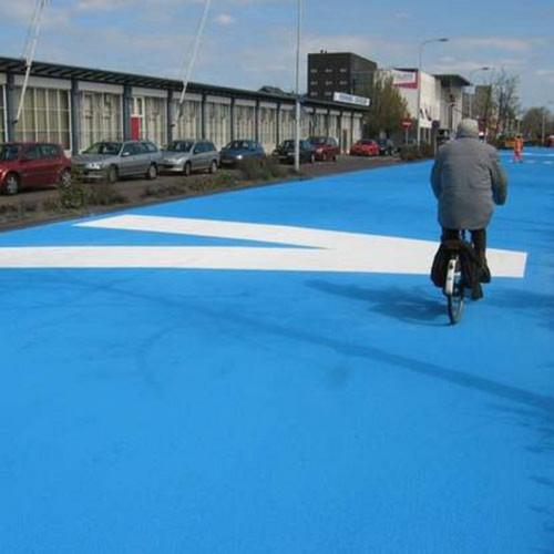 Con đường kỳ lạ sắc xanh, Phi thường - kỳ quặc, chuyen la, chuyen la the gioi, con duong, mau xanh, ha lan