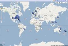 Google công bố bản đồ động vật chết hàng loạt