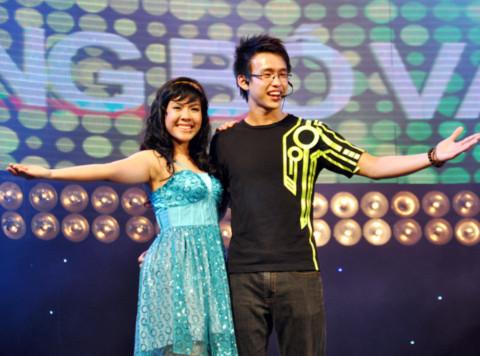 Trần Hồng Ngọc và Huỳnh Quang Bảo đến từ TP HCM