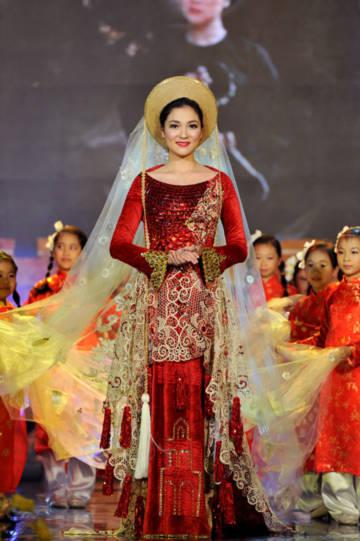 Nguyễn Thị Huyền quý phái trong chương trình