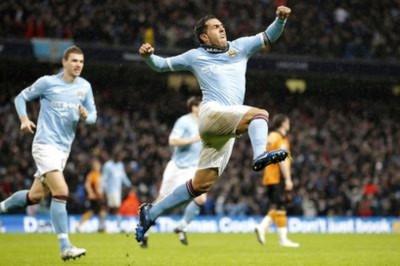 Tevez đang là cầu thủ quan trọng nhất của Man City.