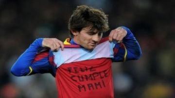 Messi bị phạt vì chúc sinh nhật mẹ