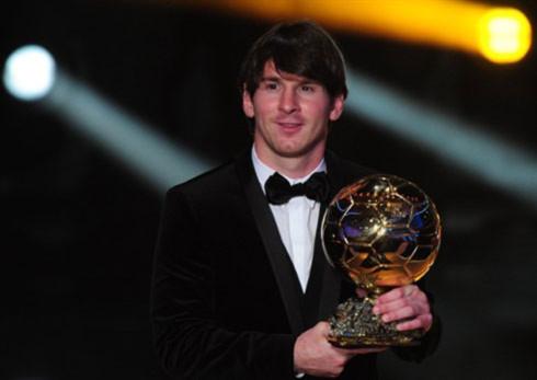 Messi đoạt Quả bóng Vàng FIFA 2010