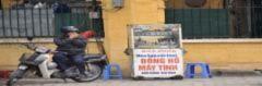 Mưu sinh trên phố trong giá rét