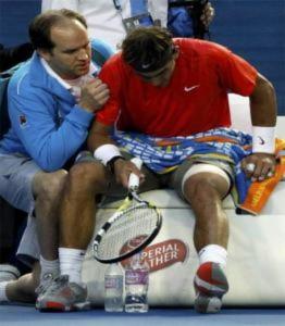 Ngày thi đấu đen đủi của Nadal