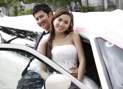Ngọc Diệp lần thứ ba yêu Huy Khánh trên màn ảnh. Ảnh: BHD.