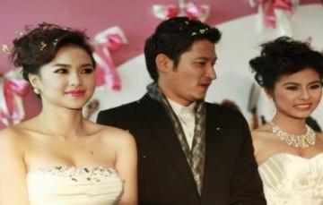 Ngọc Diệp, Vân Trang diện váy cưới ra mắt phim
