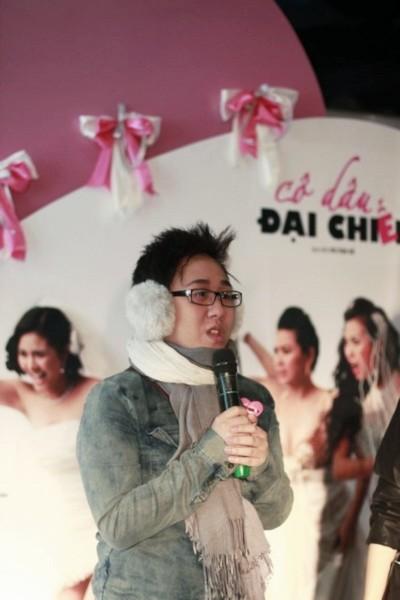 Buổi công chiếu còn có sự tham gia của một số thí sinh Vietnam Idol 2010. Trung Quân cho biết rất háo hức khi được xem bộ phim này.