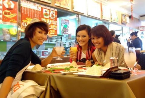 Món ăn Singapour là nơi