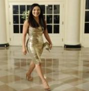 Nữ hoàng trượt băng đến Nhà Trắng dự tiệc