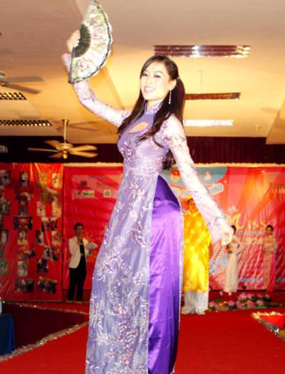 Phần thể hiện trang phục truyền thống của thí sinh.