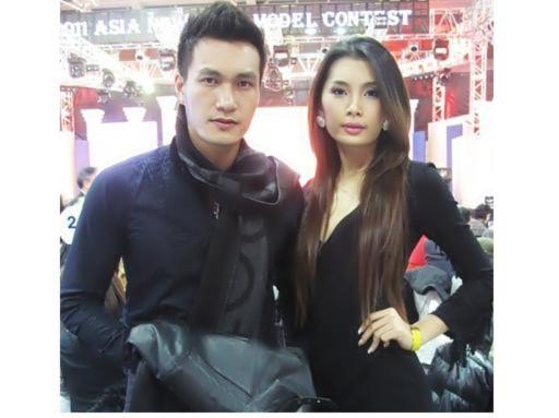 Quang Thịnh, Lan Hương hội ngộ người mẫu châu Á