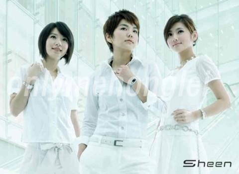 Nhóm nhạc S.H.E với 3 thành viên Hebe Tien, Ella Chen và Selina Ren.