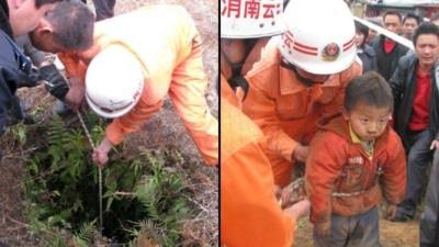 Sống sót sau 2 ngày mất tích dưới giếng sâu hơn 9m
