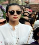 Tăng Thanh Hà tiễn nghệ sĩ Kim Ngọc về nơi an nghỉ