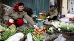 Thực phẩm, rau quả Hà Nội tăng 10-50% vì rét đậm