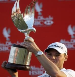 Tiger Woods bị soán ngôi nhì thế giới