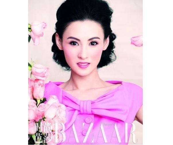 Trương Bá Chi rạng rỡ sắc hồng