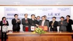 Việt Nam – Nhật Bản ký hiệp định vay vốn 58 tỷ yen