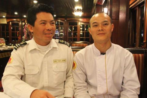 Thuyền trưởng tàu Hạ Long Sails 99 Nguyễn Duy Quyết và thủy thủ Ngô Quang Hùng kể lại những phút cứu các du khách gặp nạn