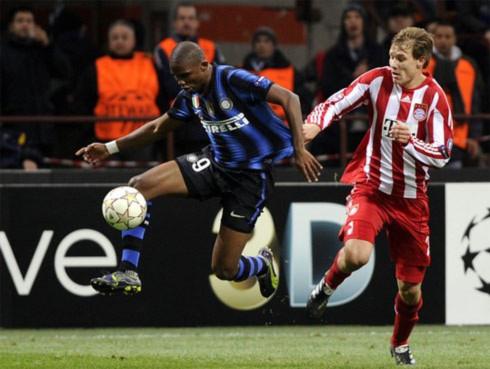 Inter lẽ ra có thể giành một kết quả tốt hơn nếu tận dụng tốt các cơ hội ở hiệp một. Ảnh: AFP.
