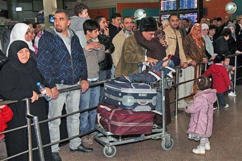Kiều dân di tản khỏi Libya