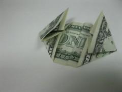 Cách xếp hình trái tim bằng tiền giấy