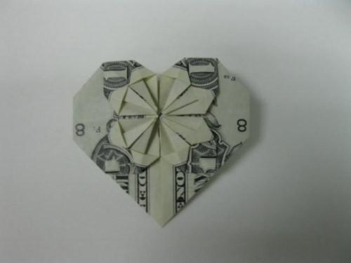 xếp hình trái tim