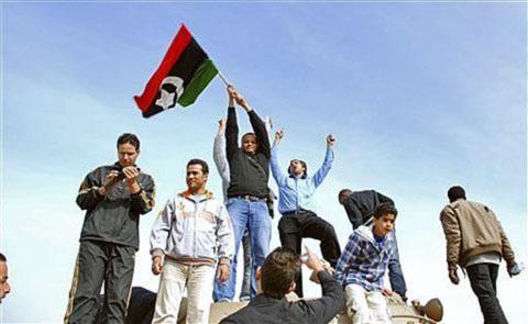 Chế độ Libya bị bao vây trong khi những cuộc biểu tình leo thang
