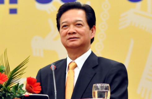 Thủ tướng tiếp tục khẳng định việc kiềm chế lạm phát sẽ là nhiệm vụ trọng tâm của kinh tế năm 2011. Ảnh: Nhật Minh