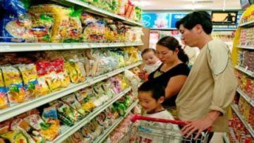 CPI Hà Nội tăng gần 2% trong tháng Tết