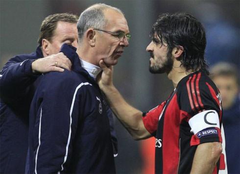 Hành vi thiếu kiềm chế của Gattuso là một nỗi thất vọng nữa về Milan trong trận thua Tottenham.