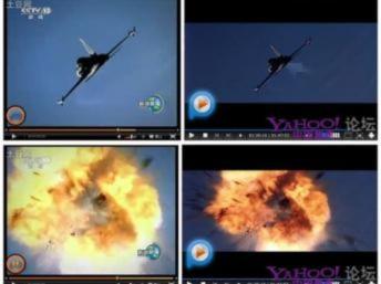 Hình ảnh của Truyền hình Trung Quốc bị đem ra so sánh với cảnh phim Top Gun