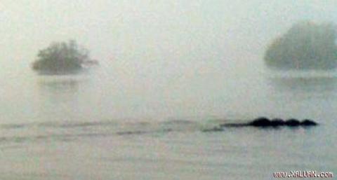 Hình ảnh quái vật bí ẩn ở hồ Windermere