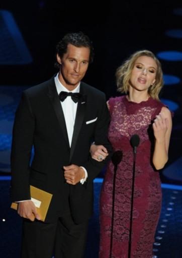 Đôi minh tinh, tài tử quyến rũ Scarlett Johansson - Matthew McConaughey