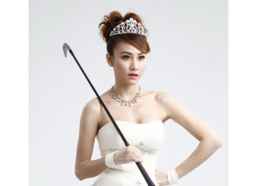 Ngân Khánh kiêu sa trong váy cưới