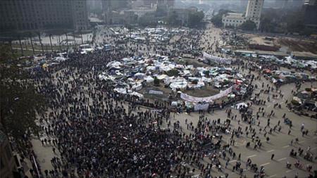 Người biểu tình Ai Cập đang đuối dần