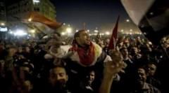 Người dân Ai Cập ăn mừng chiến thắng