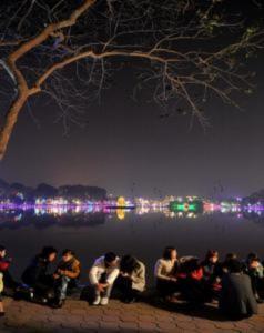 Người Hà Nội hân hoan đón năm mới