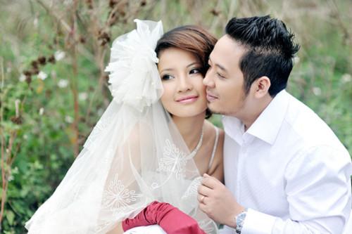 Ảnh cưới mơ mộng của Trần Thị Quỳnh