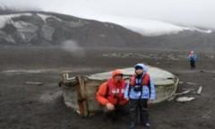 Nhà thám hiểm 9 tuổi đặt chân tới Nam Cực